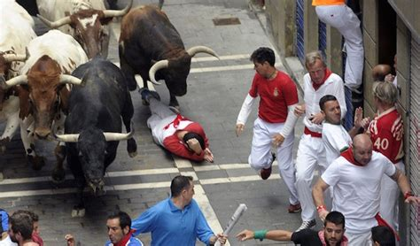 Three People Were Gored at Pamplona's Running of the Bulls