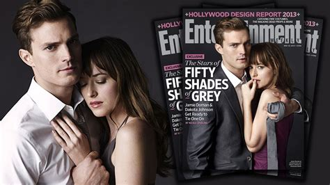 Christian Grey and Anastasia Steele in Fifty Shades Movie