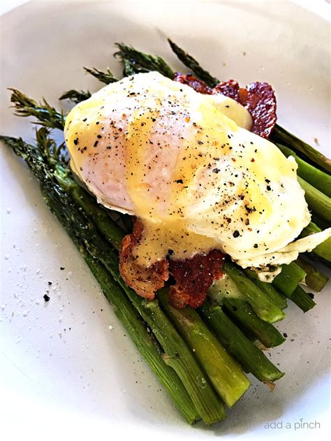 Easy Eggs Benedict with Asparagus Recipe - Add a Pinch