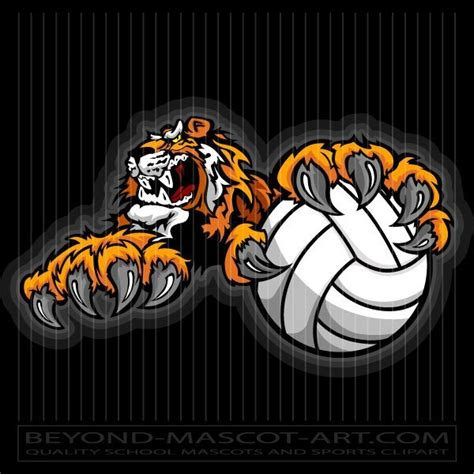 Library of tiger volleyball banner freeuse library png