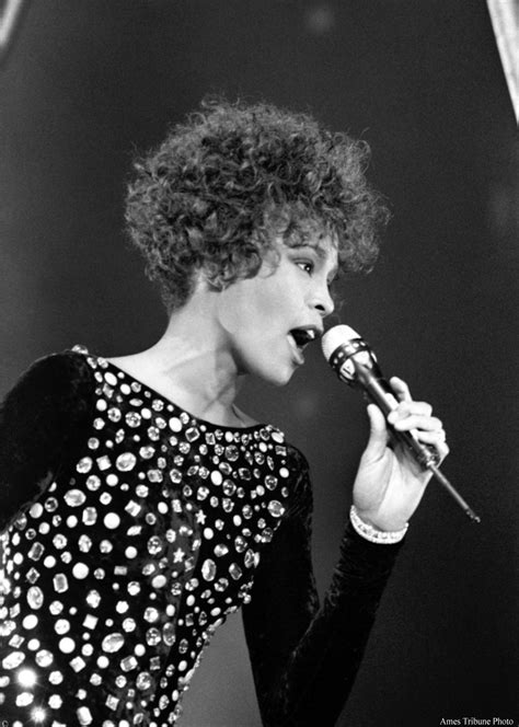 Whitney Houston Performs in Ames, Iowa   Ames History Museum