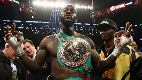 Deontay Wilder 'accepts challenge' to fight Anthony Joshua