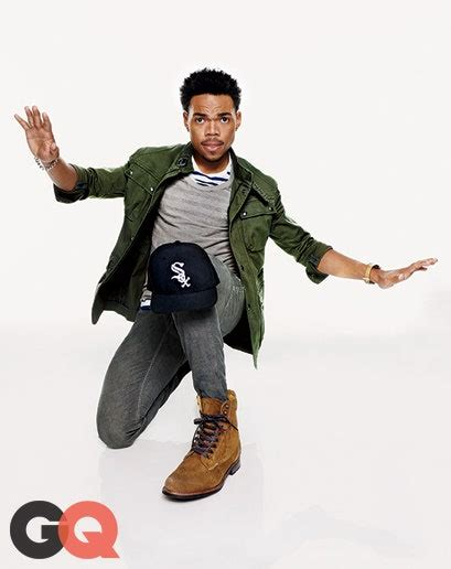 Rebooted: Chance The Rapper In Our Favorite Suede Boots   GQ