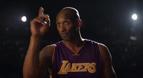 Nike commercial features Kobe Bryant leading haters in song