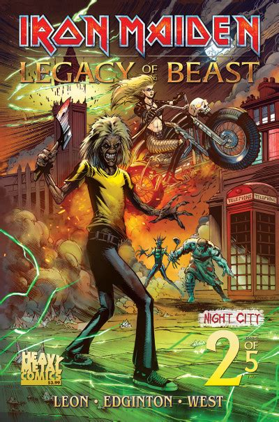 Iron Maiden: Legacy of the Beast Comic Series Reviews at