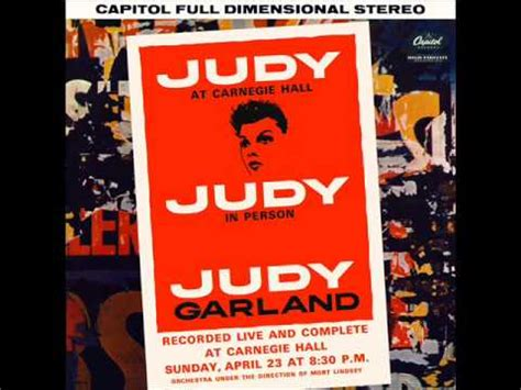Judy Garland Live at Carnegie Hall 1961- Act 1 (FULL ALBUM