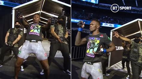 Israel Adesanya shows off incredible dance moves in