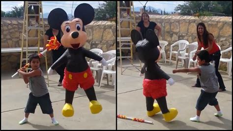Kid Gets Into Fight With Mickey at Party | RTM