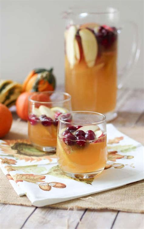 3 Healthy Fall Holiday Cocktails | Lightened Up Party