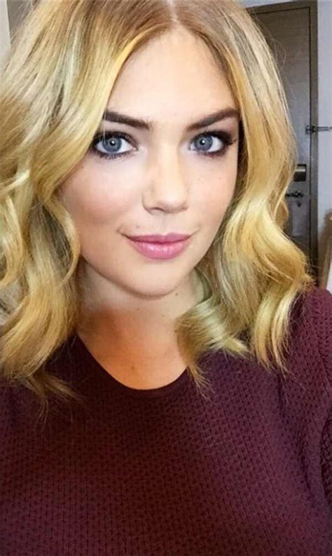 Kate Upton Cuts Her Hair a Few Inches Shorter, Embraces