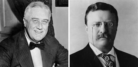 Theodore and Franklin Roosevelt Share Name, Distantly