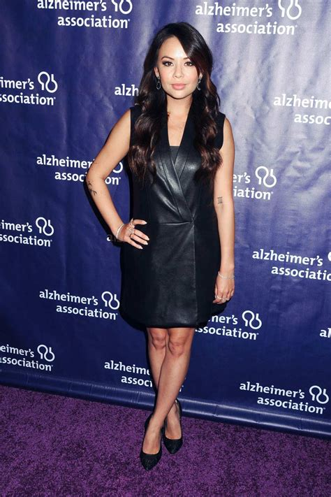 Janel Parrish attends 24th Annual A Night At Sardi's