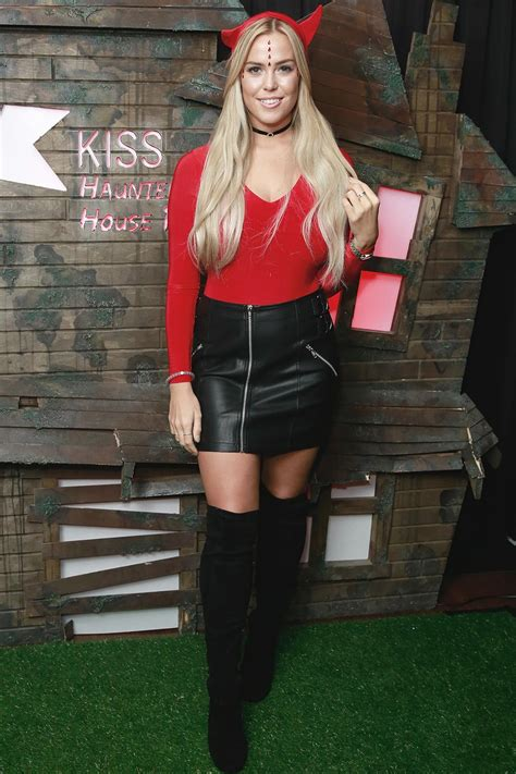 Chloe Meadows attends the Kiss FM Haunted House Party