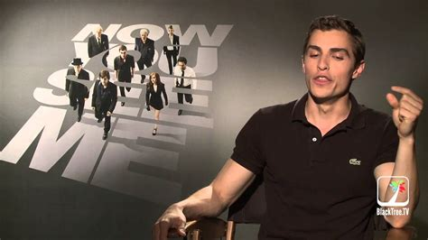 Dave Franco talks about new movie, Now You See Me- New