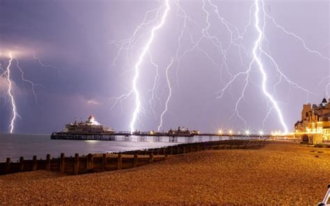 UK weather: Homes left without power as thunderstorms
