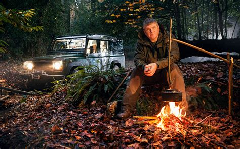 Me and My Motor: Ray Mears, survival expert, would go wild
