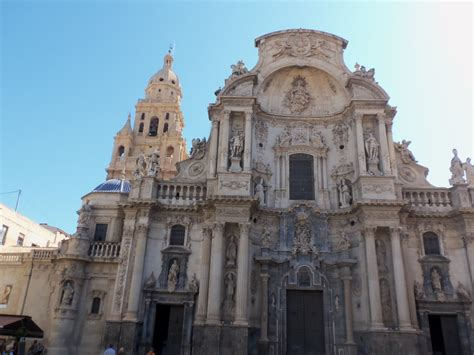 Murcia old authentic town