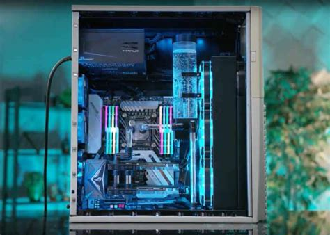 Ultimate Sleeper PC Equipped With Intel i9 CPU, Water
