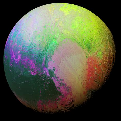 Pluto: New image reveals dwarf planet in colourful detail