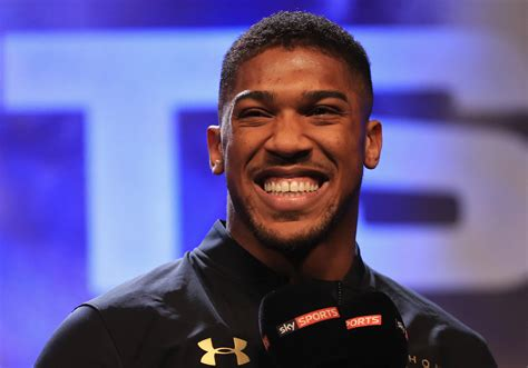 Anthony Joshua Still Lives In Council Flat With His Mum