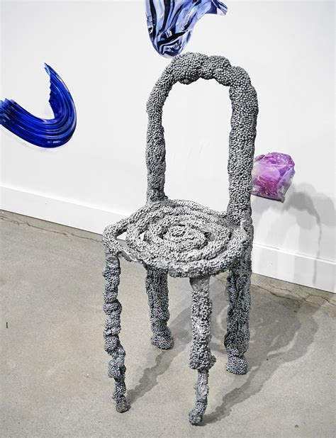 chris wolston forms funky foam and sand-cast aluminum