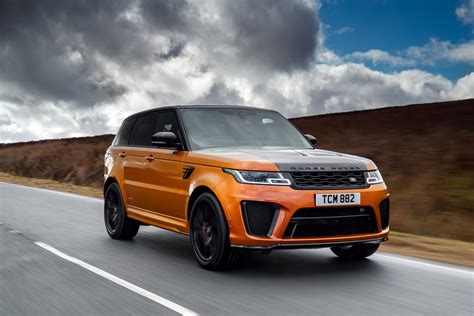Range Rover Sport SVR review - big, bold SUV adds more