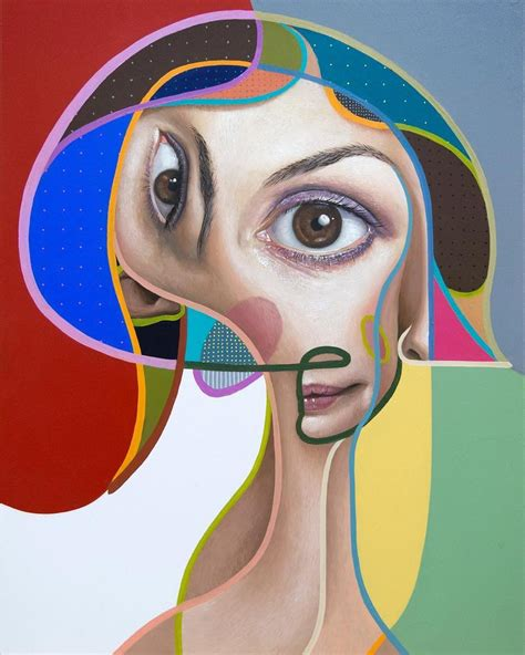New Paintings Which Combine Cubist and Realist Elements by