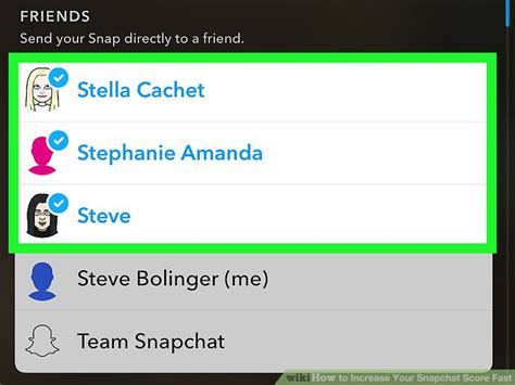 How to Increase Your Snapchat Score Fast: 7 Steps (with